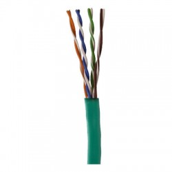 96263-46-05 Coleman Cable 1000' Network Cable Unshielded Twisted Pairs (UTP) - CAT5 - Pull Box - Green