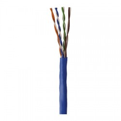96263-46-06 Coleman Cable 1000' Network Cable Unshielded Twisted Pairs (UTP) - CAT5 - Pull Box - Blue