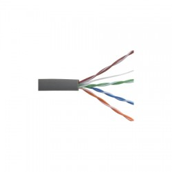 96263-46-09 Coleman Cable 1000' Network Cable Unshielded Twisted Pairs (UTP) - CAT5 - Pull Box - Gray