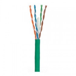 97200-46-05 Coleman Cable 1000' CAT6 Network Cable UTP - Pull-Box - Green