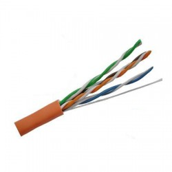 977964-16-03 Coleman Cable Cat 6 23/4pr CMP - Orange - 1000 Feet Plenum