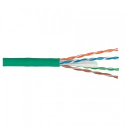 977964-16-05 Coleman Cable Cat 6 23/4pr CMP - GREEN - 1000 Feet Plenum