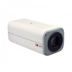 B22 Acti 4.9-49mm 30FPS @ 1920 x 1080 Outdoor Day/Night WDR Box IP Security Camera 12VDC/POE
