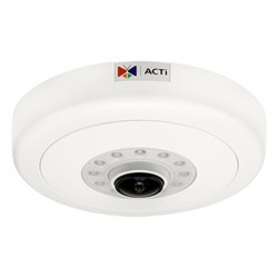 B59 ACTi 1.3mm 10FPS @ 4096 x 2160 Indoor IR Day/Night WDR Hemispheric Dome IP Security Camera 12VDC/POE
