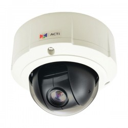 B910 ACTi 4.9-49mm 30FPS @ 1920 x 1080 Outdoor IR Day/Night WDR Mini PTZ IP Security Camera 12VDC/POE