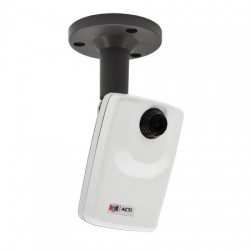 D11 Acti 3.6mm 30FPS @ 1280 x 720 Day/Night WDR Cube IP Security Camera POE
