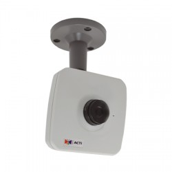 E11 Acti 4.2mm 30FPS@ 1280 x 720 Day/Night WDR Cube IP Security Camera POE