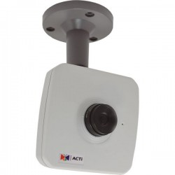 E11A Acti 4.2mm 30FPS@ 1280 x 720 Day/Night WDR Cube IP Security Camera POE