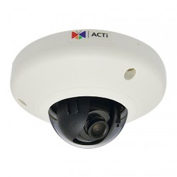E91 ACTi 2.93mm 30FPS @ 1280x720 Indoor Color WDR Dome IP Security Camera POE