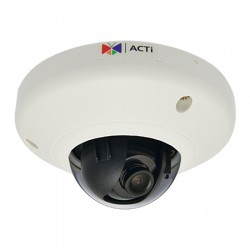 E95 ACTi 3.6mm 30FPS @ 192x1080 Indoor WDR Dome IP Security Camera PoE