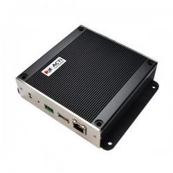 ECD-1000 ACTi 16-Channel Megapixel H.264 Media Display Station with RJ-45 Video Input HDMI/BNC Video Output Digital Signage USB 2.0 PoE/DC12V