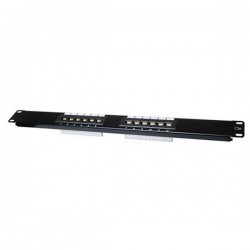 CAT 5E Patch Panel 12 Port 1U Rack Mount