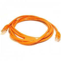CAT6-14FT-ORG-X 14FT 500MHz Cross-Over CAT6 Cable - Orange