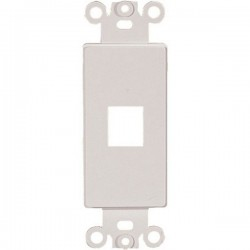 20-5142 1 Keystone Insert Decor Plate - White
