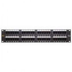 20-5548 Datacomm Cat 5e 48 Port Patch Panel