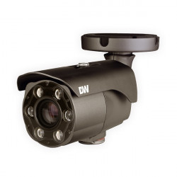 DWC-MB44LPRC1 Digital Watchdog 6~50mm Motorized 30fps @ 4MP Outdoor IR Day/Night LPR IP Security Camera 12VDC/POE