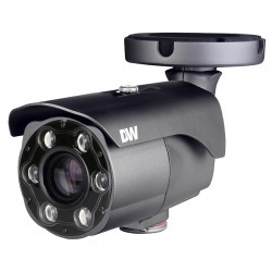 DWC-MB44LPRC6 Digital Watchdog 6~50mm Motorized 30FPS @ 4MP Outdoor IR Day/Night WDR LPR IP Security Camera 12VDC/POE