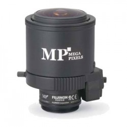 "FVL3813MI-MP Fujinon 1/2"" 3.8-13mm F1.4 C Mount Manual Iris Megapixel Lens"