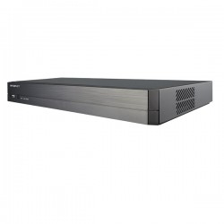 QRN-410S Hanwha Techwin 4 Channel at 4K NVR 40Mbps Max Throughput - 6TB w/ Buil-in 4 Port PoE