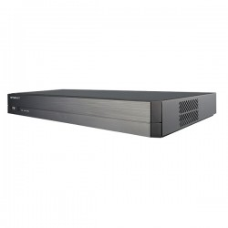 QRN-810S Hanwha Techwin 8 Channel at 4K NVR 80Mbps Max Throughput - No HDD w/ Built-in 8 Port PoE
