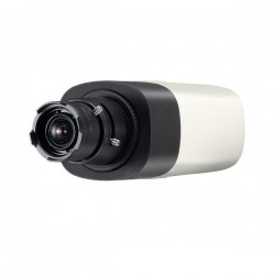 SNB-6005 Hanwha Techwin 15FPS @ 1920 x 1080 Outdoor Day/Night WDR Box IP Security Camera 12VDC/24VAC/PoE - No Lens