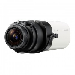 SNB-9000 Hanwha Techwin 30FPS @ 4000 x 3000 Outdoor Day/Night Box IP Security Camera 12VDC/24VAC/PoE - No Lens