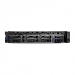 WRR-5301-64TB Hanwha Techwin 2U Wisenet Wave NVR 470Mbps Max Throughput Intel Core i5 8GB RAM - 64TB w/ 4 Professional Licenses