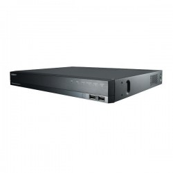 XRN-810S-12TB Hanwha Techwin 8 Channel at 4K (2160p) NVR 100Mbps Max Throughput - 12TB
