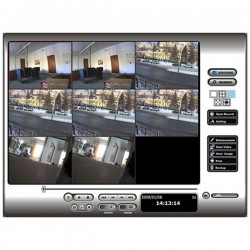 SCB-IP+-01 NUUO 1 Channel NVR IP+ Surveillance Software - MegaPixel Supported