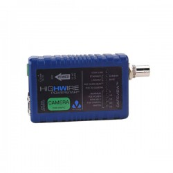 VHW-HWPS-C Veracity Highwire Powerstar Ethernet & PoE Over Coax Camera Unit