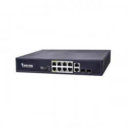 AW-FGT-100D-120 Vivotek Unmanaged 8xFE PoE + 2xGE Combo Switch