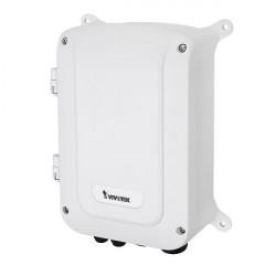 AW-GEU-086A-240 Vivotek Outdoor VivoCam L2+ Managed PoE Switch Managing IP Surveillance L2+ Gigabit PoE Switch Surge Protection IP67 IK10