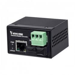 AW-IHS-0200 Vivotek Industrial FE Media Converter SC Multi-Mode Fiber 2KM