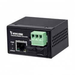 AW-IHS-0201 Vivotek Industrial FE Media Converter SC Single-Mode Fiber 30KM