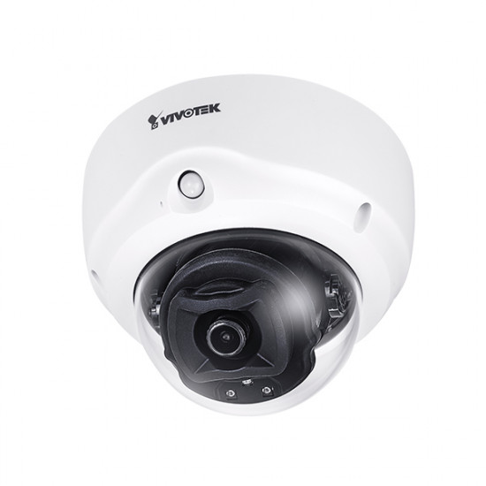 FD9187-H Vivotek 2.8mm 30FPS @ 5MP Indoor IR Day/Night WDR Dome IP Security Camera 12VDC/24VAC/PoE