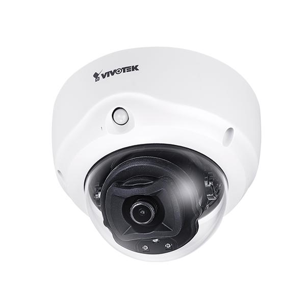 FD9187-H Vivotek 2.8mm 30FPS @ 5MP Indoor IR Day/Night WDR Dome IP Security Camera 12VDC/24VAC/PoE