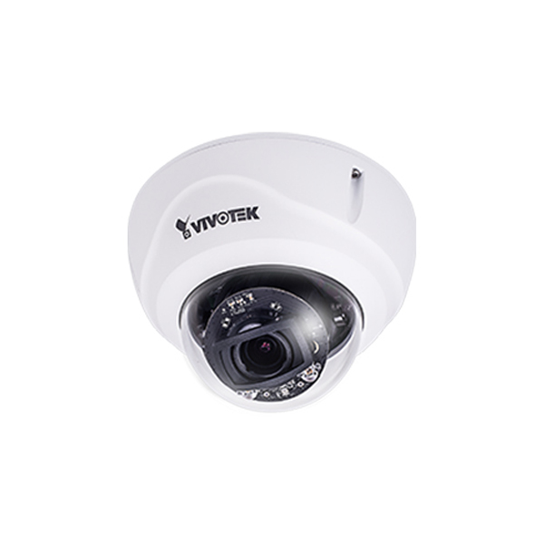 FD9365-HTVL Vivotek 4-9mm Varifocal 60FPS @ 1080p Outdoor IR Day/Night WDR Dome IP Security Camera 12VDC/24VAC/PoE