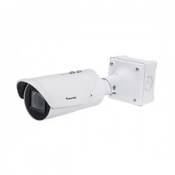 IB9387-LPR Vivotek 2.7~13.5mm Motorized 30FPS @ 5MP Outdoor IR Day/Night WDR LPR IP Security Camera 12VDC/24VAC/PoE