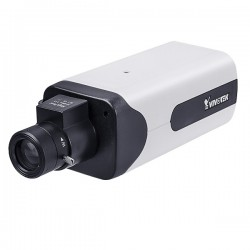 IP9165-LPC Vivotek 12~40mm Varifocal 60FPS @ 1080p Indoor Day/Night LPC IP Security Camera 12VDC/24VAC/PoE