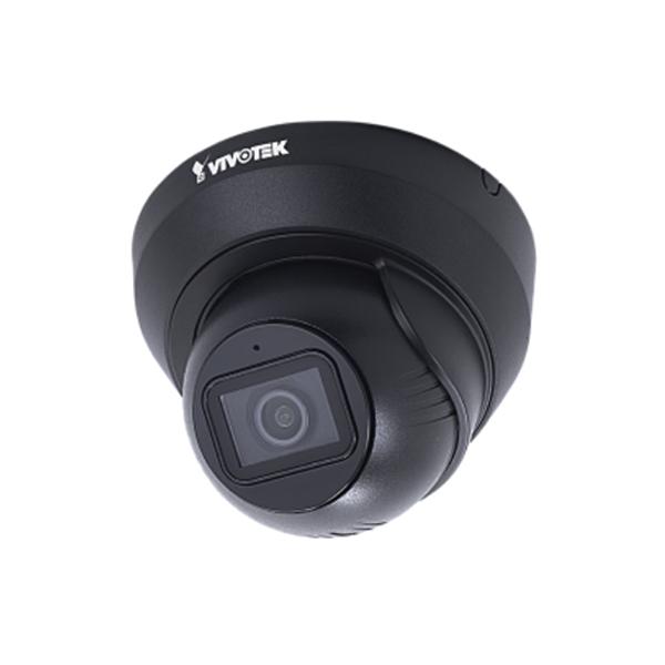 IT9389-H-F3-B Vivotek 3.6mm 30FPS @ 5MP Outdoor IR Day/Night WDR Pro Turret IP Security Camera PoE - Black