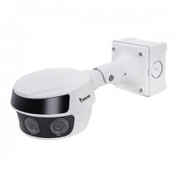 MS9321-EHV Vivotek Multi-Sensor 3.8mm 30FPS @ 20MP Outdoor IR Day/Night WDR Panoramic IP Security Camera 24VAC/PoE