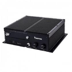 NV9311P-M12 Vivotek 8 Channel 4K Mobile NVR 64Mbps Max Throughput - No HDD