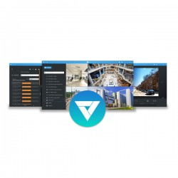 VAST2-1CH Vivotek VAST2 VMS 1 Channel Add-on or 1 Channel 3rd Party License